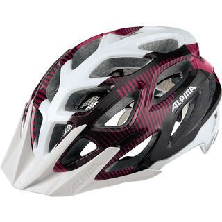 Alpina Mythos 3.0, white purple titanium - Fahrradhelm