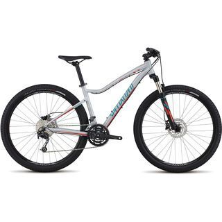Specialized Jynx Comp 650B 2017, white/red/turquoise - Mountainbike