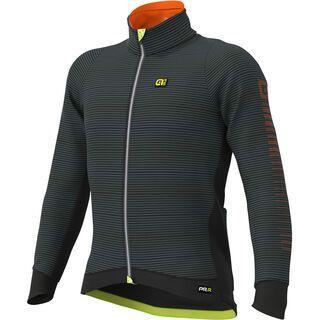 Ale Thermo Road Jacket, black/fluo-yellow - Radjacke