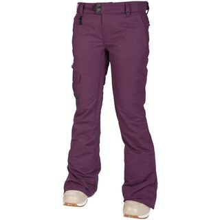 686 Womens Mannual Prism Insulated Pant, Plum - Snowboardhose
