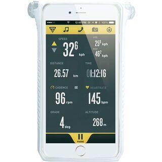Topeak SmartPhone DryBag iPhone 6+/6s+, white - Schutzhülle