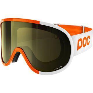 POC Retina Big Comp inkl. Wechselscheibe, orange/Lens: smokey yellow - Skibrille