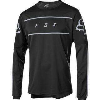 Fox Flexair LS Fine Line Jersey, black - Radtrikot