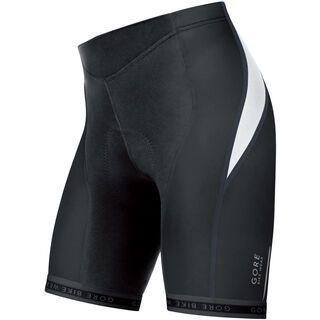 Gore Bike Wear Oxygen Lady Tights kurz+, black/white - Radhose