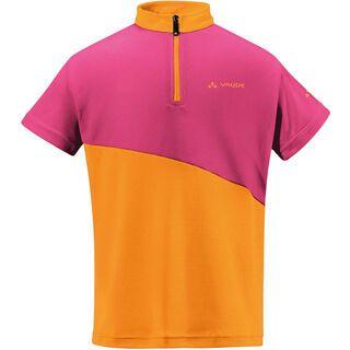 Vaude Kids Grody Shirt, azalee/sunset - Radtrikot