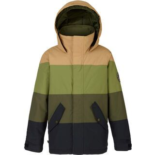 Burton Boys Symbol Jacket, black/forest night/olive - Snowboardjacke