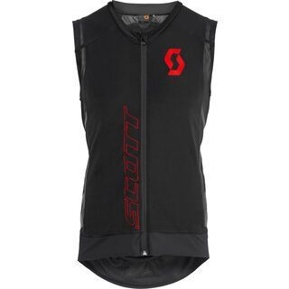Scott Actifit Pro Vest Protector, black red - Protektorenweste