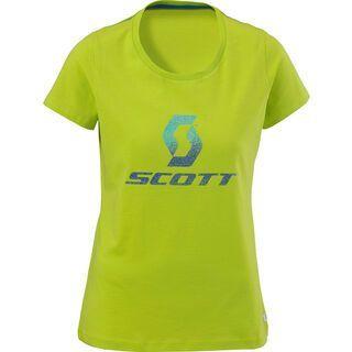 Scott Tee Womens Logo Glitter, lime green - T-Shirt