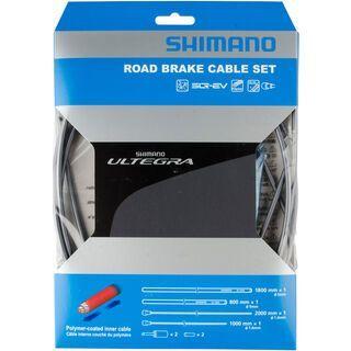 Shimano Bremszug-Set Ultegra Polymer beschichtet, grau