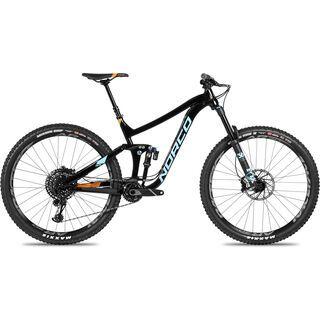 Norco Range A 1 29 2018, black/blue - Mountainbike