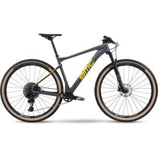 BMC Teamelite 01 One 2020, race grey & yellow - Mountainbike