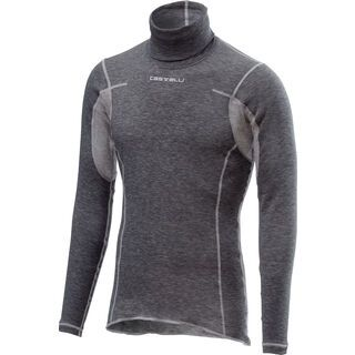 Castelli Flanders Warm Long Sleeve, gray - Unterhemd