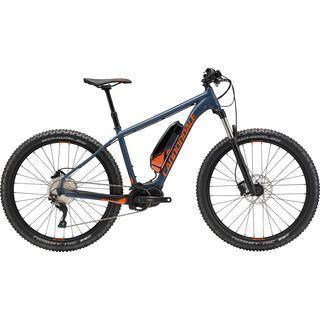 Cannondale Cujo Neo 1 2018, slate blue/haz orange/black - E-Bike