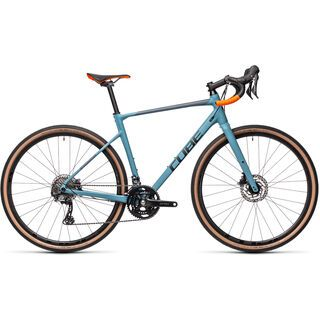 Cube Nuroad Race 2021, greyblue´n´orange - Gravelbike