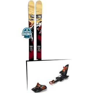 Set: Icelantic Nomad 95 2018 + Marker Kingpin 10 black/copper