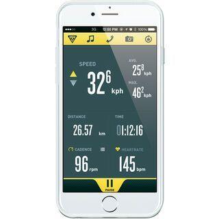 Topeak RideCase iPhone 6/6s mit Halter, white - Schutzhülle