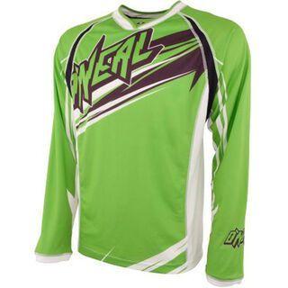 ONeal Maniac Long Sleeve Jersey, green - Radtrikot