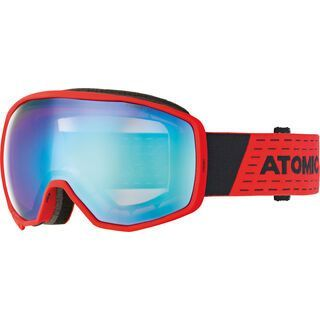 Atomic Count Stereo, grey/green/Lens: blue stereo - Skibrille