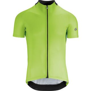 Assos Mille GT Short Sleeve Jersey, visibilitygreen - Radtrikot