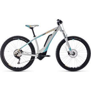 Cube Access Hybrid Pro 500 27.5 2018, white´n´blue - E-Bike