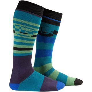 Burton Weekender Two-Pack Sock, Cyanide - Socken