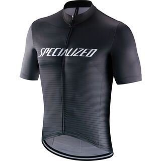 Specialized RBX Comp Logo Team Shortsleeve Jersey, black/charcoal - Radtrikot