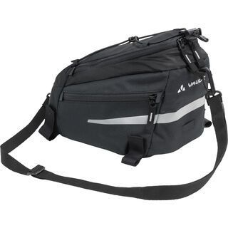 Vaude Silkroad S, black - Gepäckträgertasche