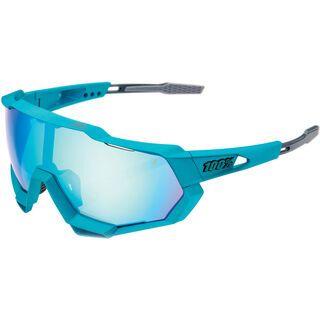 100% Speedtrap Peter Sagan LE inkl. WS, blue topaz/Lens: ml mir - Sportbrille