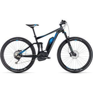 *** 2. Wahl *** Cube Stereo Hybrid 120 EXC 500 27.5 2018, black´n´blue - E-Bike | Größe 18 Zoll