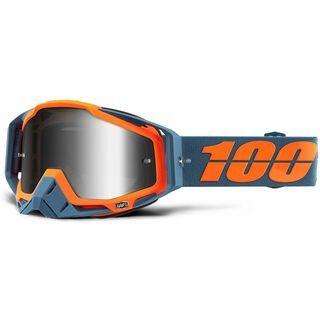 100% Racecraft, kilroy/Lens: mir silver - MX Brille