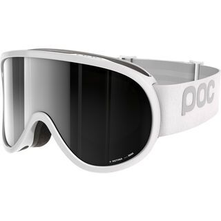 POC Retina, white/Lens: bronze silver mirror - Skibrille