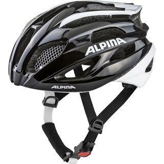 Alpina Fedaia, black-white - Fahrradhelm
