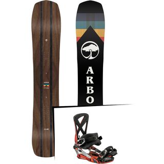 Set: Arbor A-Frame 2019 + Nitro Phantom red rider