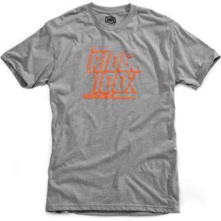 100% Elliot Youth T-Shirt, heather grey