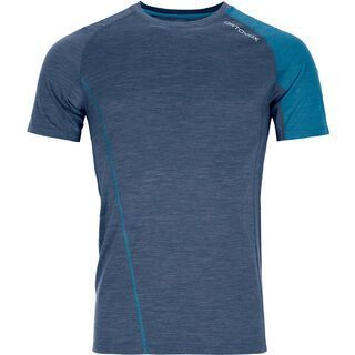 Ortovox 120 Cool Tec Fast Upward TS M, night blue blend - Funktionsshirt