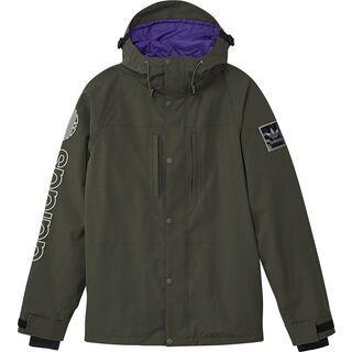 Adidas Utility Jacket, cargo/collegiate purple - Snowboardjacke