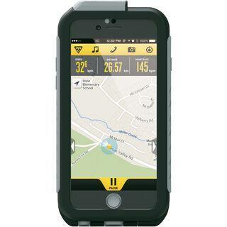 Topeak Weatherproof RideCase iPhone 6/6s mit Halter, black/gray - Schutzhülle