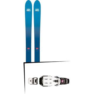 Set: DPS Skis Wailer F106 Foundation 2018 + Rottefella NTN Freeride