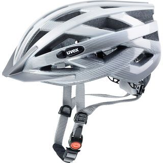 uvex i-vo c, white-silver - Fahrradhelm