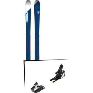 Set: Faction Candide 1.0 2018 + Salomon N STH2 WTR 13 black/white