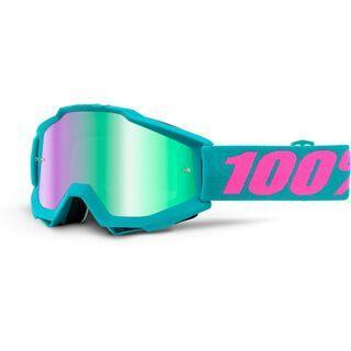 100% Accuri inkl. Wechselscheibe, passion/Lens: mirror green - MX Brille