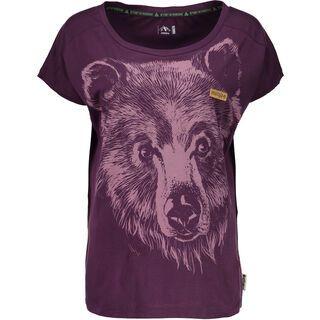 Maloja UnterjettenbergM., plum - T-Shirt