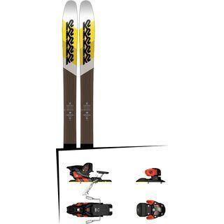 Set: K2 SKI Marksman 2018 + Salomon Warden MNC 13 white/black/orange
