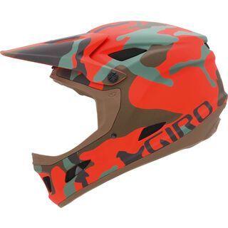Giro Cipher, matte glowing red camo - Fahrradhelm