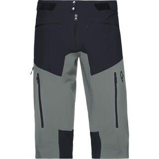 Norrona fjørå flex1 Shorts (M), caviar/castor grey - Radhose