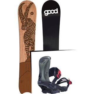 Set: goodboards Capra 2017 + Ride Capo (1770118S)