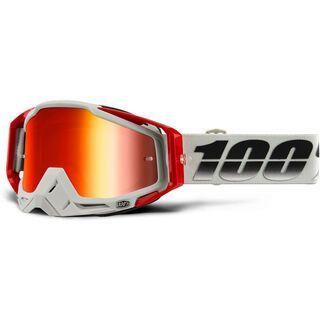 100% Racecraft, suez/Lens: mir red - MX Brille
