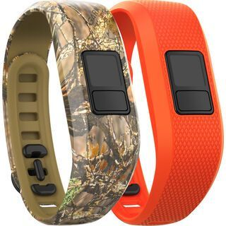 Garmin vivofit 3 Ersatzarmbänder, camo+blaze orange - Zubehör