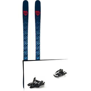 Set: Black Crows Captis 2019 + Marker Alpinist 9 Long Travel black/titanium