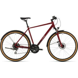 Cube Nature Allroad 2020, red´n´grey - Fitnessbike